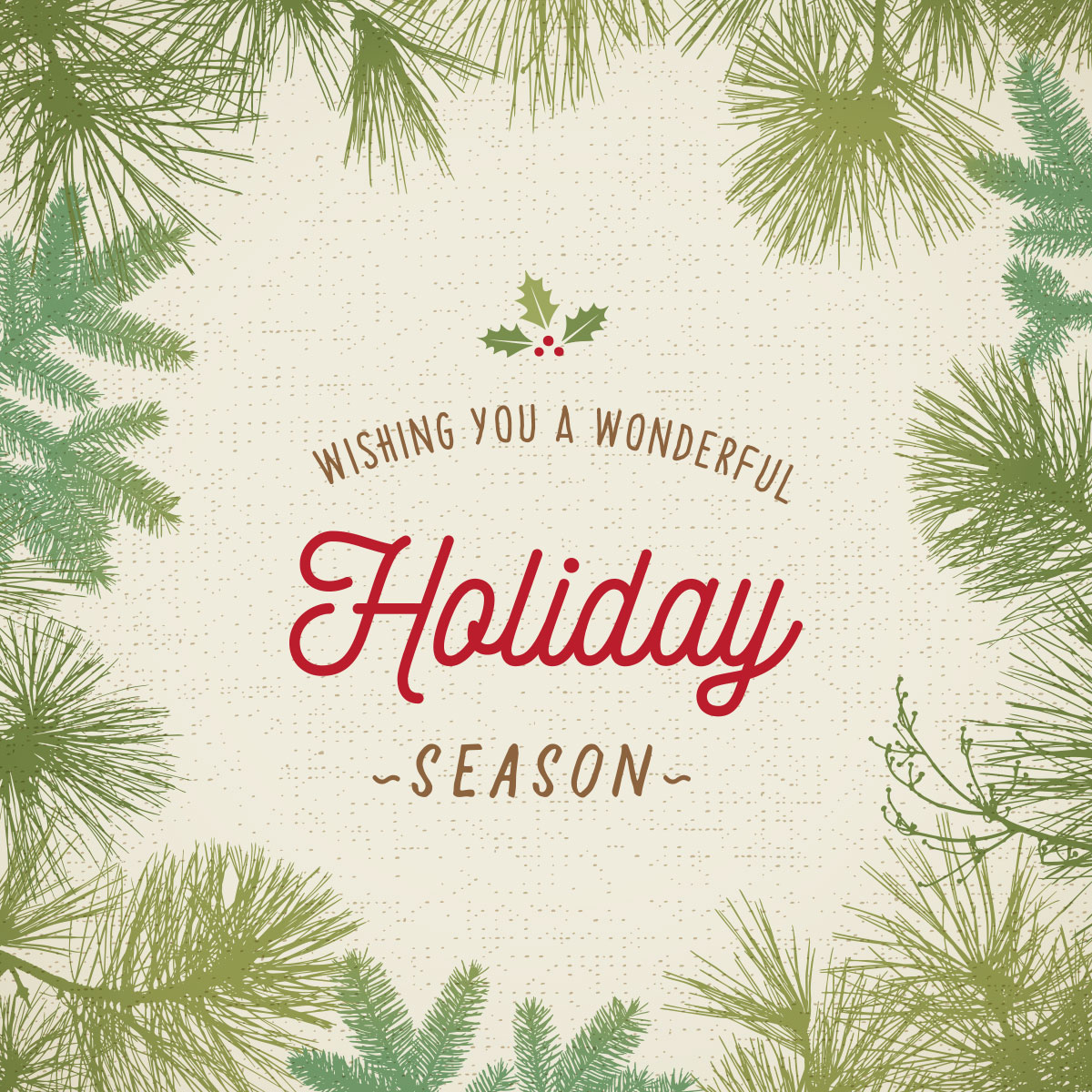 Calli Institute-Wishing You a Happy Holidays