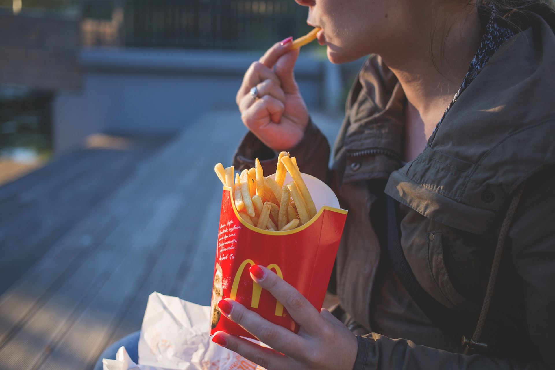 woman using emotional eating to manage anxiety
